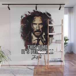 It`s Personal - Wick Wall Mural