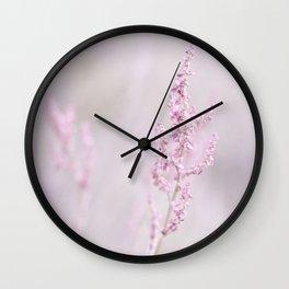 Pretty Delicate  Wall Clock