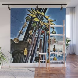 Wind Chimes Wall Mural