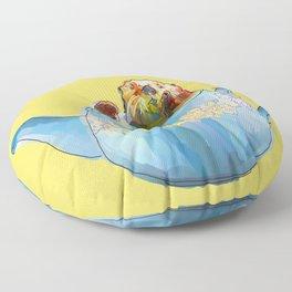 Otter Teapot Floor Pillow
