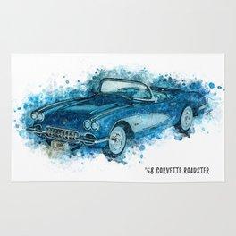 58 Roadster Rug