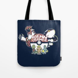 Hoenn Trainer Tote Bag