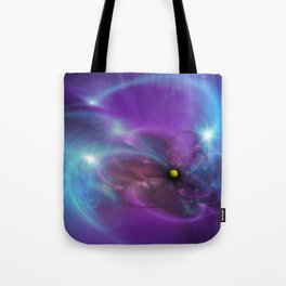Gravitational Distort Space Abstract Art Tote Bag