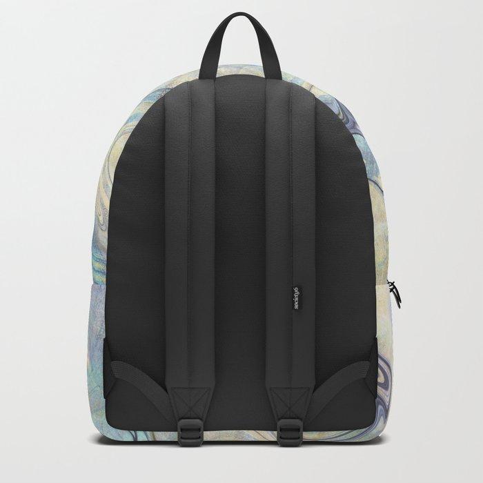 Mermaid Marble Backpack