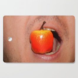 Mimicry of the human mouth with objects Cutting Board