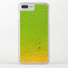 The Mighty Ducks Clear iPhone Case