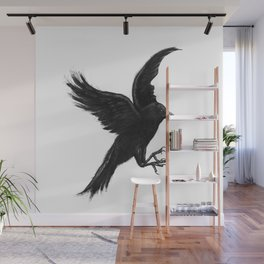Crow & Alfred Wall Mural