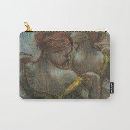 "Edgar Degas ""Two dancers - half-length"" Carry-All Pouch"