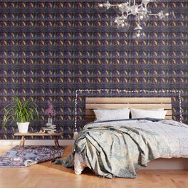 Burnished Acanthus Wallpaper
