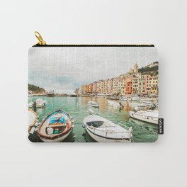 Coastal Italy Carry-All Pouch
