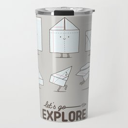 Let's go explore Travel Mug