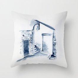 Untitled - corte sconta Throw Pillow