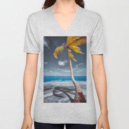 Summer Beach Unisex V-Neck