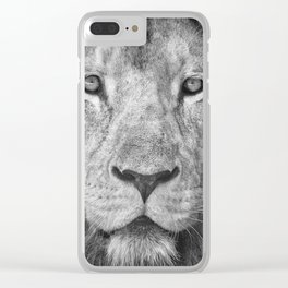 Lion 5716 Clear iPhone Case