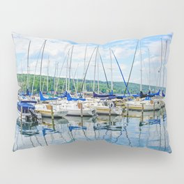 Glen Harbour Marina Pillow Sham
