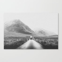 ON THE ROAD XXV / Scotland Canvas Print