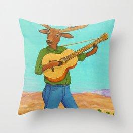 The Balladeer Throw Pillow