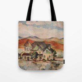 Poppy Fields Ranch Tote Bag