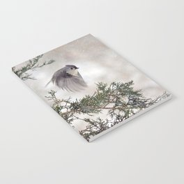 Fly-away Tufted Titmouse Notebook