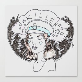 Killer Canvas Print