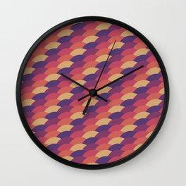 Dark Scales Wall Clock