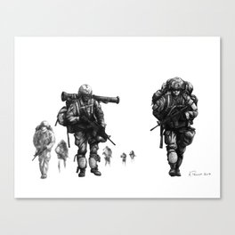 Light Fighters Canvas Print