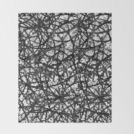 Grunge Art Abstract  G59 Throw Blanket