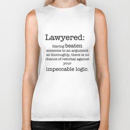 Lawyered Biker Tank