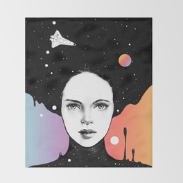 If You Were My Universe Throw Blanket