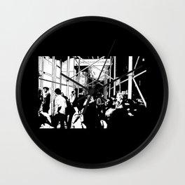 Chelsea Crowd #1 Wall Clock