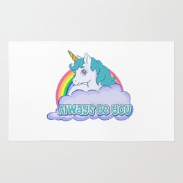 Always Be You Shirt Rug