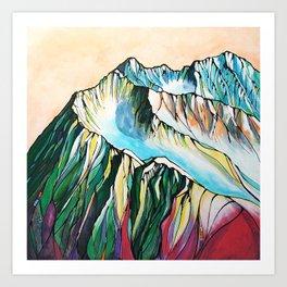 Alyeska Mountain at Jack Sprat Art Print