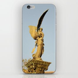 Angel of the Parc Montsouris iPhone Skin