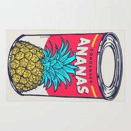 Condensed ananas Rug