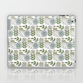 Mid Century Danish Bird Laptop & iPad Skin
