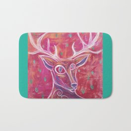 Things With Antlers Bath Mat