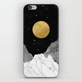Moon and Stars iPhone Skin