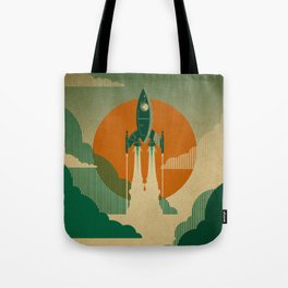 The Voyage (Green) Tote Bag