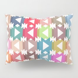 Pastel geometry Pillow Sham
