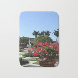 Bougainvillea Row Bath Mat