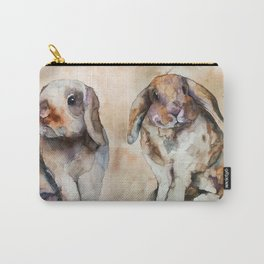 BUNNIES #1 Carry-All Pouch