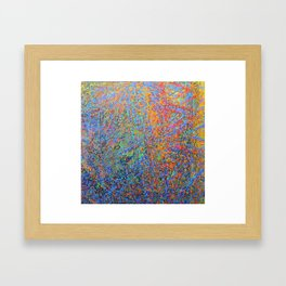 """Huellas sonoras"" / Preludios Framed Art Print"