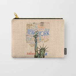 Fly Tardis Carry-All Pouch