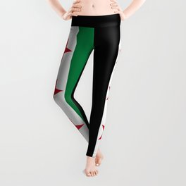 Independence Flag of Syrian, High quality Leggings