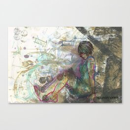 Time Canvas Print