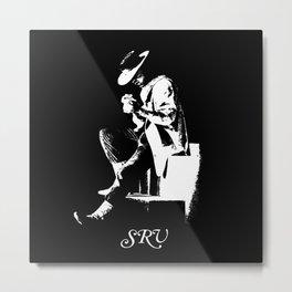 SRV-Stevie Ray Vaughan-Number one - Guitar-Blues-Rock-legend 3 Metal Print