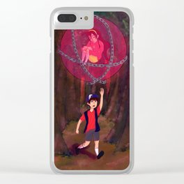Don't Go Clear iPhone Case