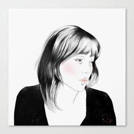 Léa Seydoux - Melancholia Serie Canvas Print