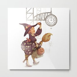 Witch is in Town! Metal Print
