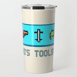 A Hero's Toolset Travel Mug